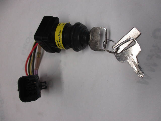 87 897716k01 mercury marine outboard boat ignition switch and key rh ebay com