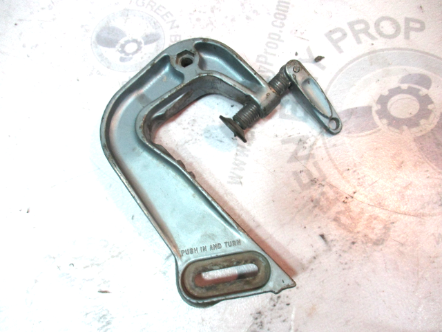 0380215 Evinrude Johnson Outboard 9.5 HP Right STBD Stern Bracket Clamp 1960's