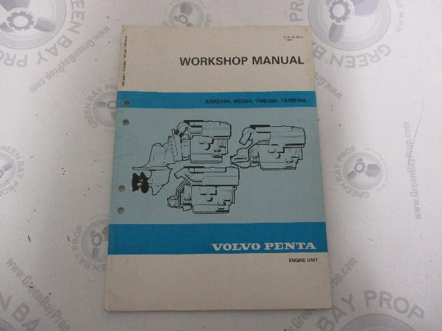 5046 volvo penta service workshop manual aqad30a tmd30a engine unit rh greenbayprop com 03 Volvo Penta 4.3 Volvo Penta Wiring-Diagram