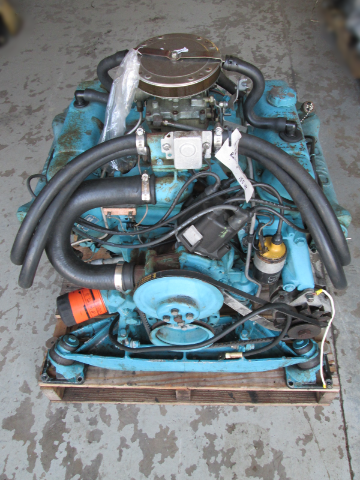 1972 Buick Motor HUFP-21C OMC 155 V6 Complete Engine With Intermediate Housing