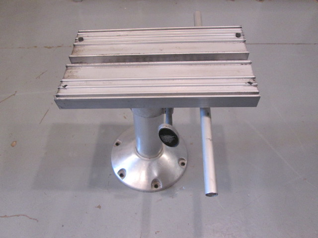 "Aluminum Man-O-War Marine Boat Seat  Pedestal With 9"" Base"
