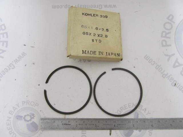399 Kohler Vintage Snowmobile Engine Std Piston Ring Set