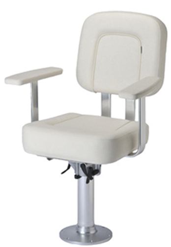 GARELICK 985 SERIES Offshore Helm Chair Package Complete, White