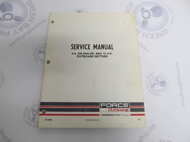 ob3869 mercury force chrysler outboard service manual 9 9 15 hp 250 rh greenbayprop com Chrysler Parts Chrysler Catalytic Converter