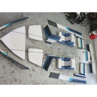 1989 20 Ft Bayliner Capri Interior Seats Cushions, Back Rest