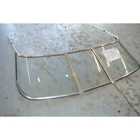 Boat Windshield Curved Glass 1996 Glastron GS185 SF