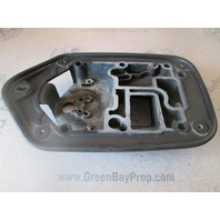 820268A1 Exhaust Adapter Plate for Force 40hp 50hp 2cyl Outboard