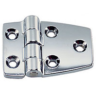 "1213DP1CHR Perko Boat Short Side Hinge Pair Chromed Zinc 1 1/2"" x 21/2"""