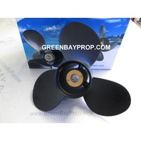 11 x 17 Pitch Aluminum Propeller for Mercury Mariner 25-70 HP Outboards