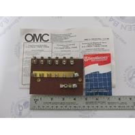 0174535 174535 OMC Evinrude Johnson Marine Fuse Panel Terminal Block