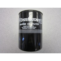0502901 502901 OMC Boat Marine Oil Filter, Long for GM & Chevy V8