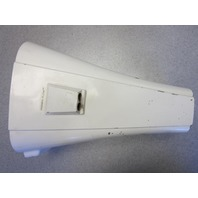 817931A 6 Force Outboard Midsection Rear Leg Cover White