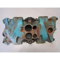 3978469 OMC Chevy Stringer Sterndrive V8 4 Barrel Intake Manifold