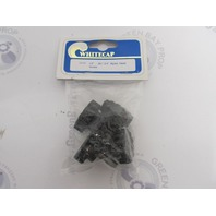 "3523BP Whitecap Marine Bimini Top Fittings Nylon Head Screw, 1/4-28 x 3/4"""