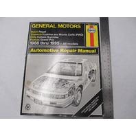 1988-1995 Haynes GM Automotive Repair Manual