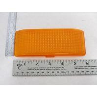 384-15A Peterson Rectangular Amber Replacement Lens