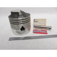 385282 0385282 OMC Std Piston Kit for Evinrude Johnson 85 & 100 Hp Outboard