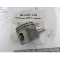 0386314 386314 OMC Evinrude Johnson 70-75 HP Outboard Piston & Pin .020