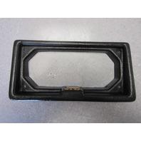 1991 Cajun Bass Boat Black Plastic Dash Panel Frame Part