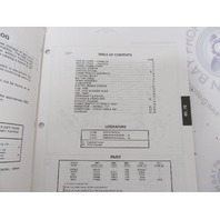 438671 OMC Evinrude Johnson 50-70 HP Outboard Parts Catalog 1997
