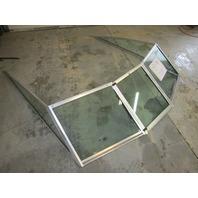 "1986 Glass Master 16' Boat Walk Through Windshield 67.5"" Wide"