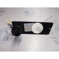 Bayliner Capri Boat Dash Ignition Key Switch Panel 1988
