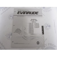 5005313 OMC BRP Evinrude 135/150/175 HP V6 Outboard Parts Catalog 2003