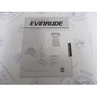 5005314 OMC BRP Evinrude 75-115 HP Outboard Parts Catalog 2003