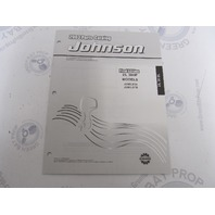 5005325 OMC BRP Johnson 25-30 HP EL Outboard Parts Catalog 2003