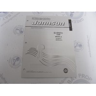 5005326 OMC BRP Johnson 25 HP TE Outboard Parts Catalog 2003