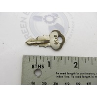0501565 501565 OMC Ignition Key KF-50 Evinrude Johnson Vintage Outboards