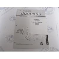 5033319 OMC BRP Johnson 40-50 HP 4-Stroke Outboard Parts Catalog 2003