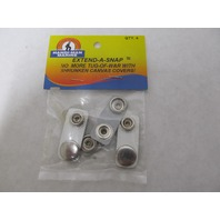 "560261 Handi-Man BOAT CANVAS TOP EXTEND-A-SNAP-3/4"", Pkg of 4"