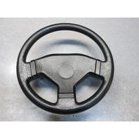"""1992 Euroline Black Boat Steering Wheel 13"""""""