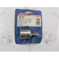"66101-3 Attwood Marine Stainless Steel Bimini Top Cap for 7/8"" Tubing"