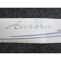 Starcraft Aurora STBD Boat Emblem Logo Vinyl Decal Black Grey White