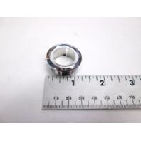 """69501A-CH ITC Chrome Plastic Boat RV Console Button Light Collar 1.25"""""""