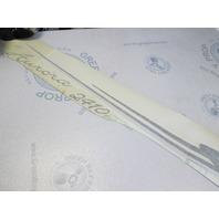 Starcraft Aurora 2410 STBD Boat Vinyl Decal Black Grey White
