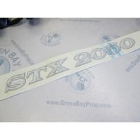 Starcraft STX 2050 Boat Name Vinyl Decal Graphic 19 1/2 in Long