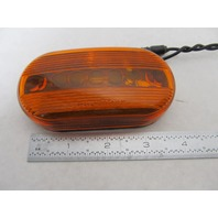 "Amber Oblong Boat Trailer Clearance Marker Light 4"" x 2"""
