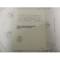 7793760-5 Volvo Penta V-8 Fresh Water Cooling Installation Instructions 1984