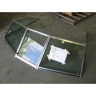 Boat Windshield 73.5 Wide x 52.5 Long Imperial V-182 Walk Through