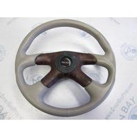 2001 Bluewater Breeze Tan 14 in Boat Steering Wheel