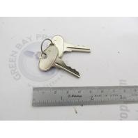 8178911 817891 1 Mercury Force Outboard Ignition Key Set C