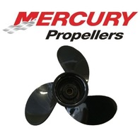 48-828156A12 9 x 9 Pitch Alum Prop for Mercury Mariner 6-15 HP Outboards