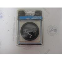 "79-883634Q1 Quicksilver Engine Black 2"" Power Trim Gauge NLA"