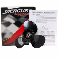 48-896896A40 Mercury  25-30 HP Prop 9 1/2  x 11 Pitch 3-Blade Alum Propeller