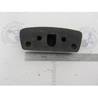 0909512 909512 OMC Stringer Stern Drive Pivot Cap Rubber Bumper