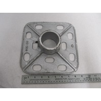 "DB-700 Roloff Mfg Bottom Base 9-1/2"" Square, 2-3/8"" Pipe"