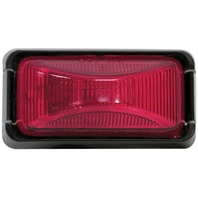 E152BKR Anderson Boat Trailer Red Sealed Clearance Side Marker Light Kit